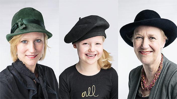 Drie generaties homepage