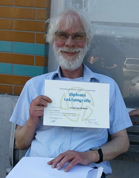 Fotograaf Den Haag diploma 1